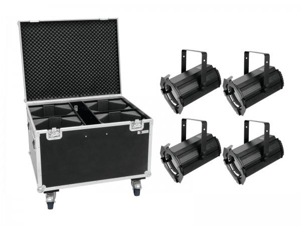EUROLITE Set 4x LED THA-100F MK2 Theater-Spot + Case // EUROLITE Set 4x LED THA-100F MK2 Theater-Spot + Case1
