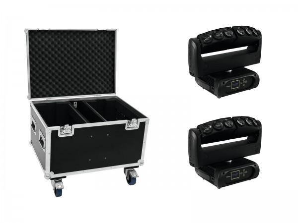FUTURELIGHT Set 2x Wave LED-Moving-Leiste + Case // FUTURELIGHT Set 2x Wave LED Moving Bar + Case1