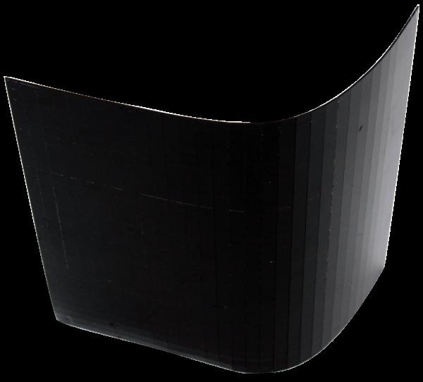 Spiegelfacetten in schwarz