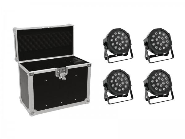EUROLITE Set 4x LED SLS-180 + Case EC-SL4M Größe M // EUROLITE Set 4x LED SLS-180 + Case EC-SL4M size M1
