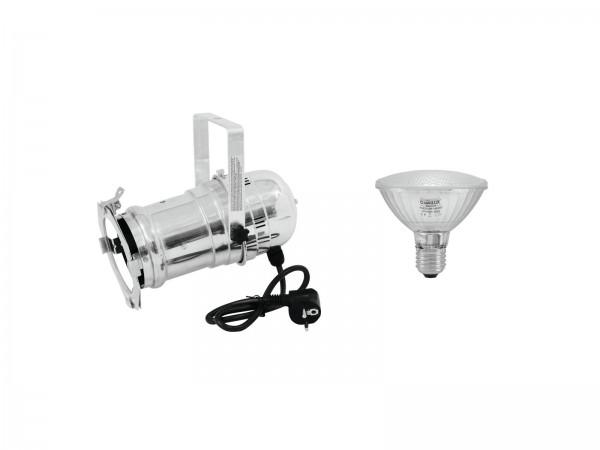EUROLITE Set PAR-30 Spot sil + PAR-30 230V SMD 11W E-27 LED 6500K // EUROLITE Set PAR-30 Spot sil + PAR-30 230V SMD 11W E-27 LED 6500K1