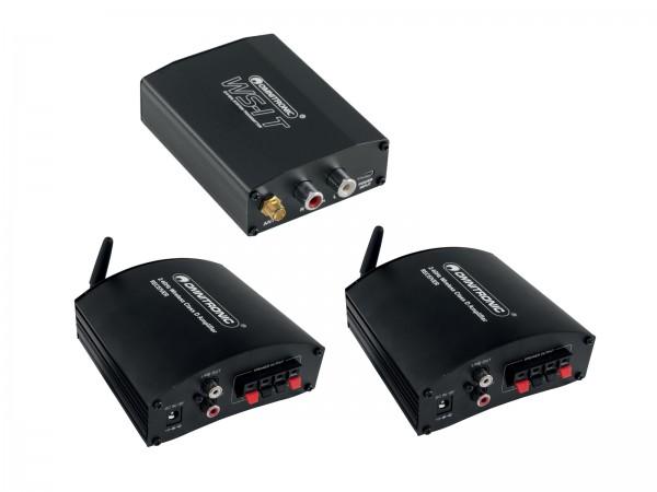 OMNITRONIC WS-1 2.4GHz Sender + 2x Empfänger, aktiv // OMNITRONIC WS-1 2.4GHz Transmitter + 2x Receiver, active1
