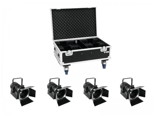 EUROLITE Set 4x LED THA-60PC + Case // EUROLITE Set 4x LED THA-60PC + Case1
