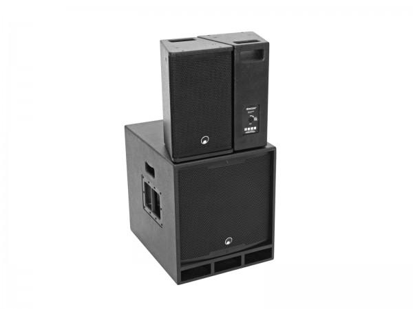 OMNITRONIC MAXX-1810DSP 2.1 Aktiv-System // OMNITRONIC MAXX-1810DSP 2.1 Active System1