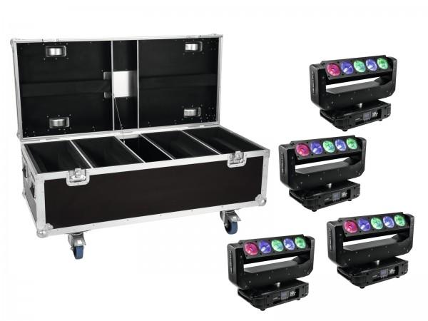 EUROLITE Set 4x LED TMH-X Bar 5 Beam + Case // EUROLITE Set 4x LED TMH-X Bar 5 Beam + Case1