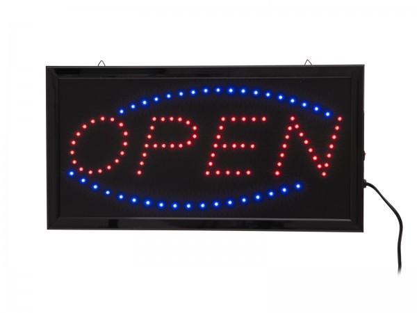 EUROLITE LED Schild OPEN classic // EUROLITE LED Sign OPEN classic1
