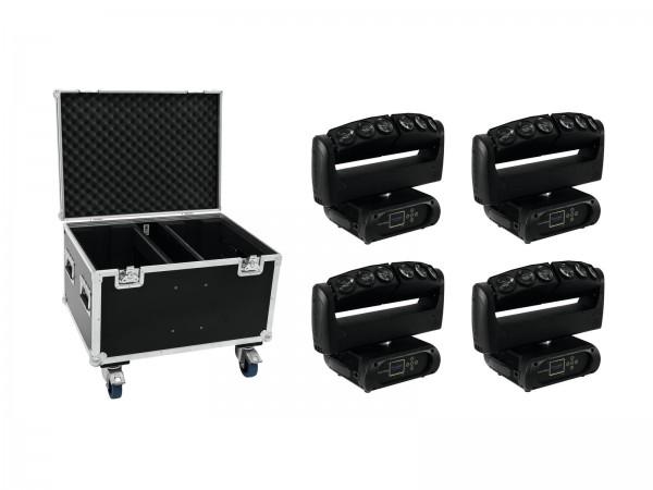 FUTURELIGHT Set 4x Color Wave LED-Moving-Leiste + Case // FUTURELIGHT Set 4x Color Wave LED Moving Bar + Case1