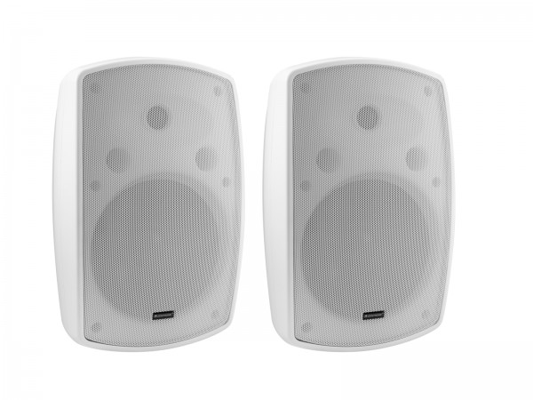 OMNITRONIC OD-8T Wandlautsprecher 100V weiß 2x // OMNITRONIC OD-8T Wall Speaker 100V white 2x1