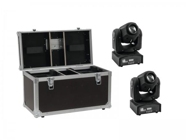 EUROLITE Set 2x LED TMH-17 Spot + Case // EUROLITE Set 2x LED TMH-17 Spot + Case1