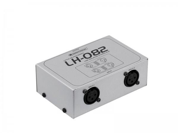 OMNITRONIC LH-082 Stereo-Isolator XLR // OMNITRONIC LH-082 Stereo Isolator XLR1