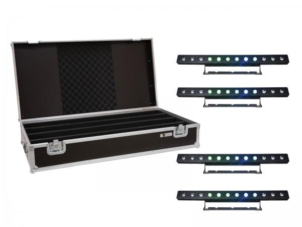 EUROLITE Set 4x LED PIX-12 QCL Leiste + Case // EUROLITE Set 4x LED PIX-12 QCL Bar + Case1