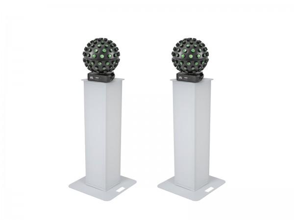EUROLITE Set 2x Stage Stand 100cm + 2x LED B-40 HCL Strahleneffekt // EUROLITE Set 2x Stage Stand 100cm + 2x LED B-40 HCL Beam Effect1