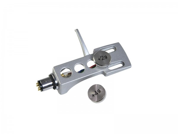 OMNITRONIC Headshell Systemträger mit Gewicht sil // OMNITRONIC Headshell Universal with Weights silver1