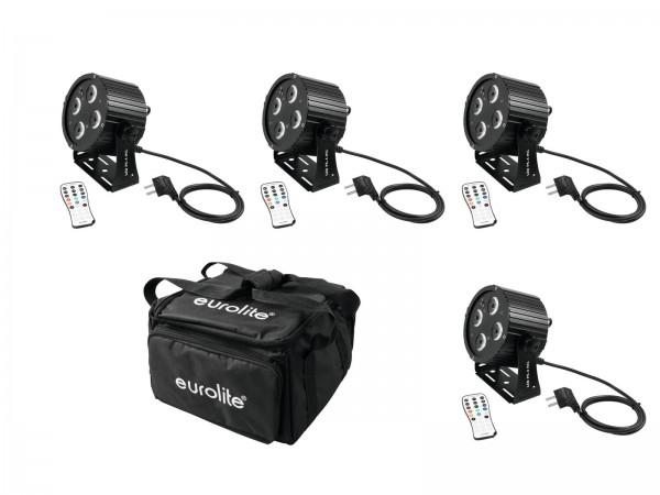 EUROLITE Set 4x LED PS-4 HCL Spot + SB-4 Soft-Bag // EUROLITE Set 4x LED PS-4 HCL Spot + SB-4 Soft-Bag1