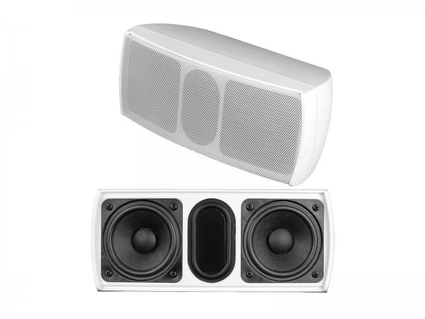 OMNITRONIC OD-22 Wandlautsprecher 8Ohm weiß // OMNITRONIC OD-22 Wall Speaker 8Ohms white1