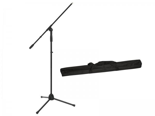OMNITRONIC Set Mikrofonstativ MS-2A mit Galgen sw + Tasche // OMNITRONIC Set Microphone Tripod MS-2A with Boom bk + Bag1