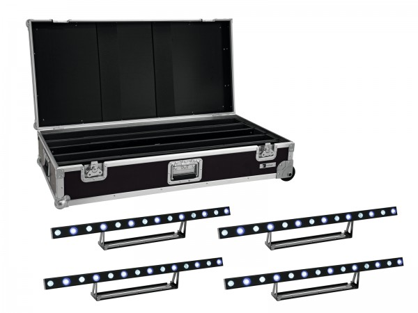 EUROLITE Set 4x LED STP-7 Beam/Wash Bar + Case // EUROLITE Set 4x LED STP-7 Beam/Wash Bar + Case1