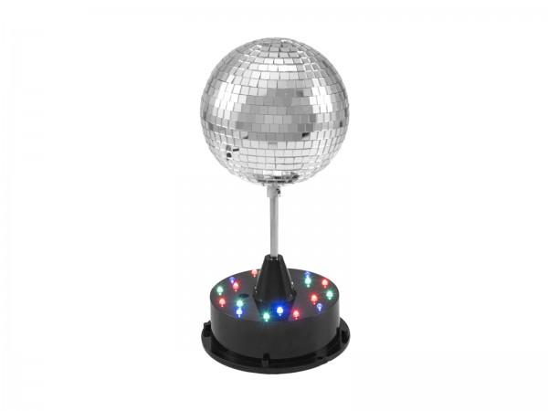 Stand-Discokugel inkl. Motor und LEDs