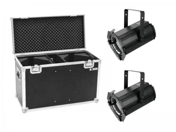 EUROLITE Set 2x LED THA-100F MK2 Theater-Spot + Case // EUROLITE Set 2x LED THA-100F MK2 Theater-Spot + Case1