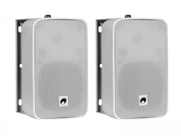 OMNITRONIC ODP-204 Installationslautsprecher 16 Ohm weiß 2x // OMNITRONIC ODP-204 Installation Speaker 16 ohms white 2x1