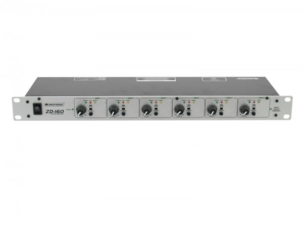 OMNITRONIC ZD-160 Zonen-Verteiler // OMNITRONIC ZD-160 Zone Distributor1