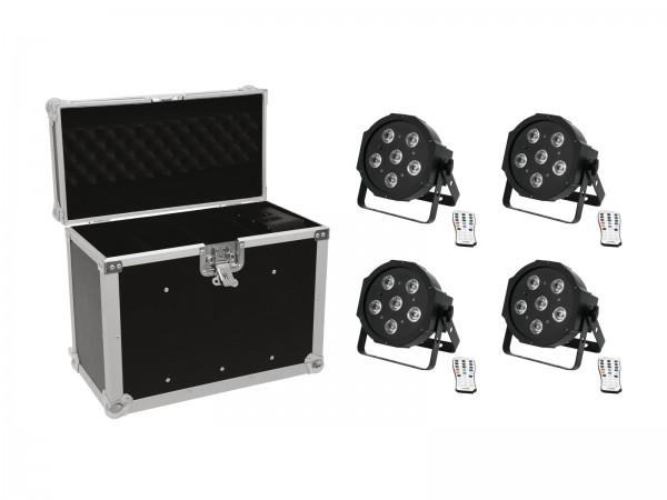 EUROLITE Set 4x LED SLS-603 + Case EC-SL4M Größe M // EUROLITE Set 4x LED SLS-603 + Case EC-SL4M size M1