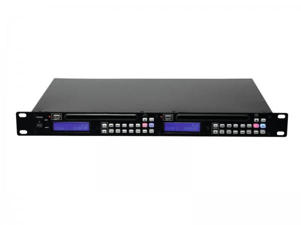 OMNITRONIC DMP-202 Dual-USB-CD-Player // OMNITRONIC DMP-202 Dual USB/CD Player1