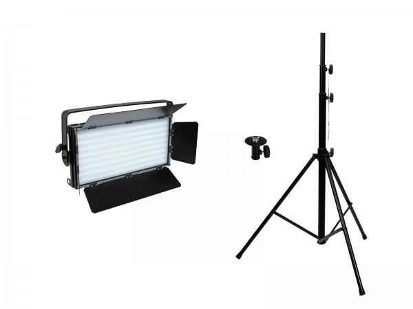 EUROLITE Set LED PLL-480 CW/WW + Stativ // EUROLITE Set LED PLL-480 CW/WW + Stand1