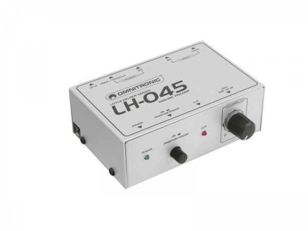 OMNITRONIC LH-045 Mikrofon-Vorverstärker // OMNITRONIC LH-045 Microphone Preamplifier1