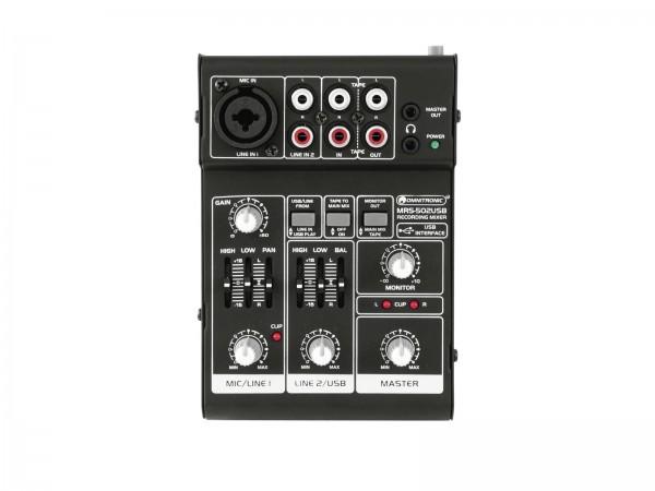 OMNITRONIC MRS-502USB Recording-Mixer // OMNITRONIC MRS-502USB Recording Mixer1