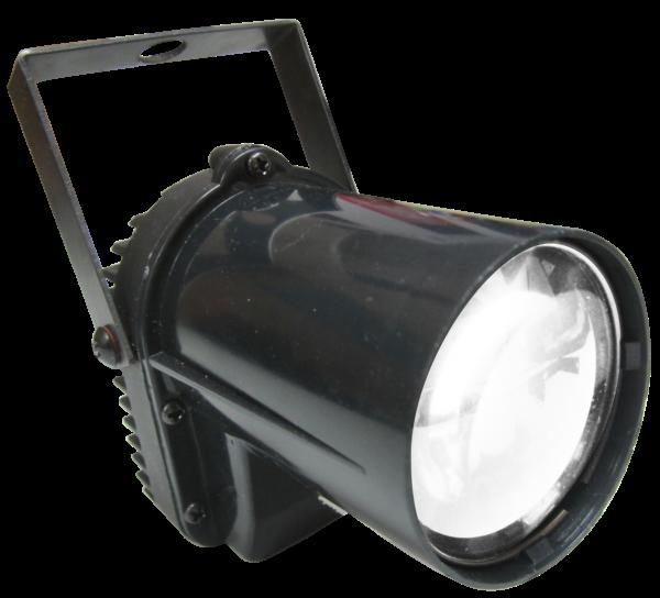 LED Discokugel-Strahler weiss 3Watt