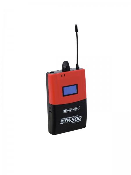 OMNITRONIC STR-500 Taschenempfänger IEM // OMNITRONIC STR-500 Bodypack Receiver IEM1