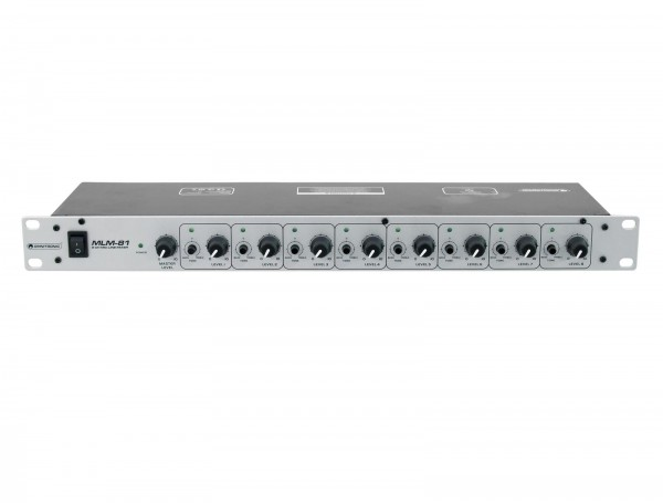 OMNITRONIC MLM-81 Mikrofon-Line-Mixer // OMNITRONIC MLM-81 Microphone/Line Mixer1