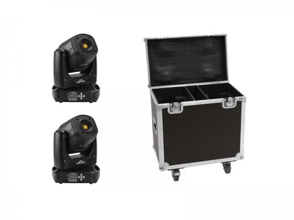 EUROLITE Set 2x LED TMH-S90 + Case // EUROLITE Set 2x LED TMH-S90 + Case1