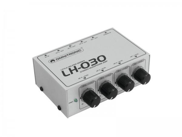 OMNITRONIC LH-030 Kopfhörerverstärker // OMNITRONIC LH-030 Headphone Amplifier1