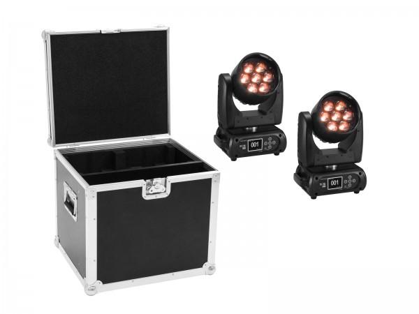 FUTURELIGHT Set 2x EYE-7 HCL Zoom + Case // FUTURELIGHT Set 2x EYE-7 HCL Zoom + Case1