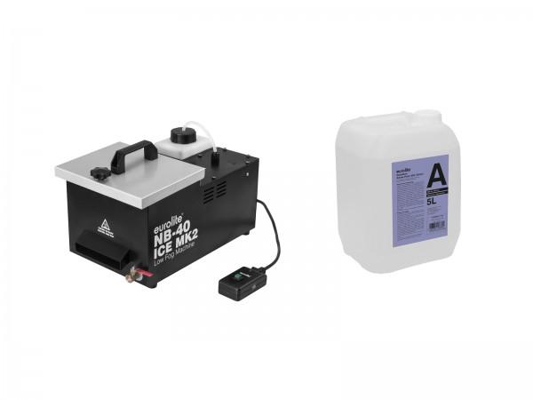 EUROLITE Set NB-40 MK2 + Smoke Fluid -A2D- 5l // EUROLITE Set NB-40 MK2 + Smoke Fluid -A2D- 5l1
