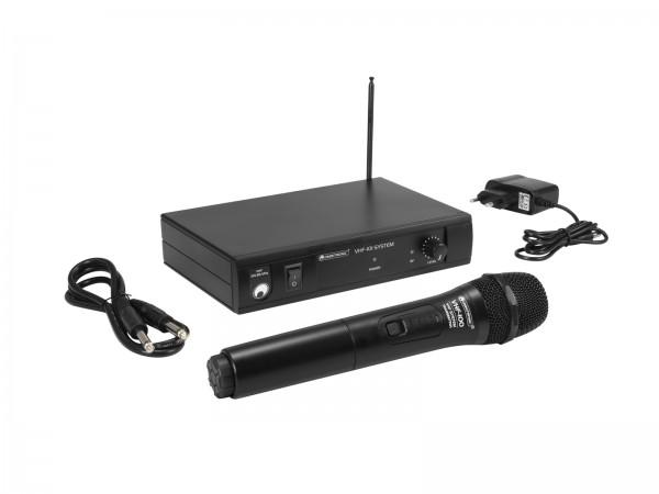 OMNITRONIC VHF-101 Funkmikrofon-System 209.80MHz // OMNITRONIC VHF-101 Wireless Mic System 209.80MHz1