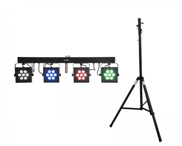 EUROLITE Set LED KLS-3002 + STV-40S-WOT Stahlstativ // EUROLITE Set LED KLS-3002 + STV-40S-WOT Steel stand1