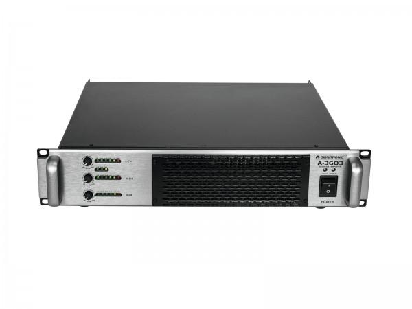 OMNITRONIC A-3603 Class-D 2.1 Endstufe // OMNITRONIC A-3603 Class-D 2.1 Amplifier1