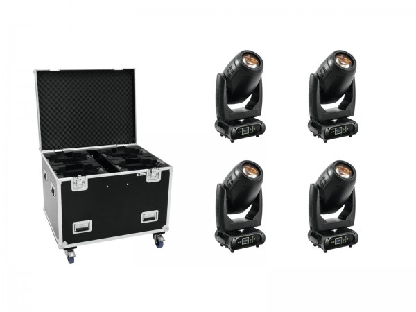 FUTURELIGHT Set 4x PLB-280 + Case // FUTURELIGHT Set 4x PLB-280 + Case1