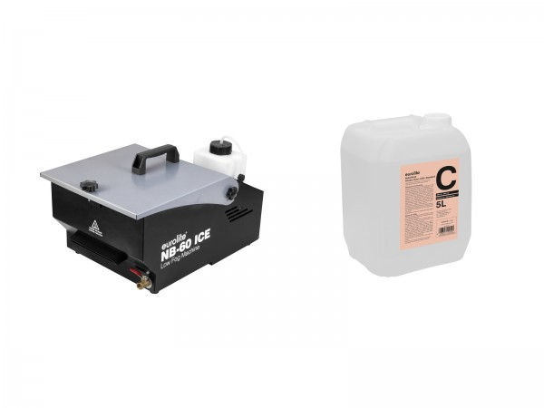 EUROLITE Set NB-60 + Smoke Fluid -C2D- 5l // EUROLITE Set NB-60 + Smoke Fluid -C2D- 5l1