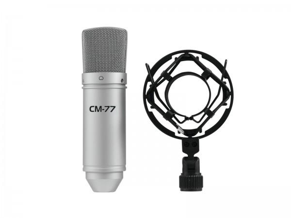 OMNITRONIC MIC CM-77 Kondensatormikrofon // OMNITRONIC MIC CM-77 Condenser Microphpone1
