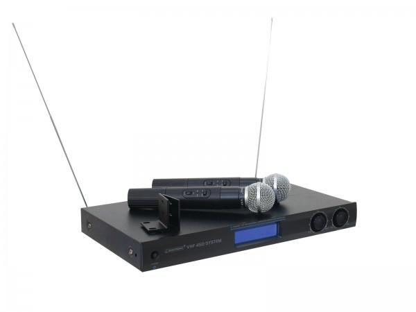 OMNITRONIC VHF-450 Funkmikrofon-System // OMNITRONIC VHF-450 Wireless Mic System1