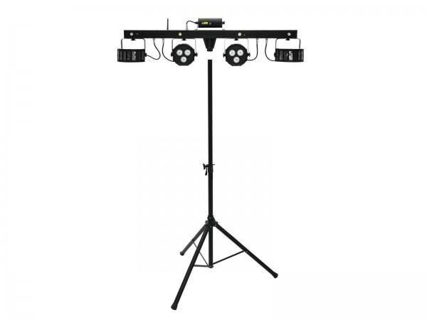 EUROLITE Set LED KLS Laser Bar FX + M-3 Boxenhochständer // EUROLITE Set LED KLS Laser Bar FX + M-3 Speaker-system stand1