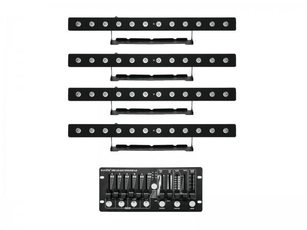 EUROLITE Set 4x LED PIX-12 HCL + Controller // EUROLITE Set 4x LED PIX-12 HCL + Controller1