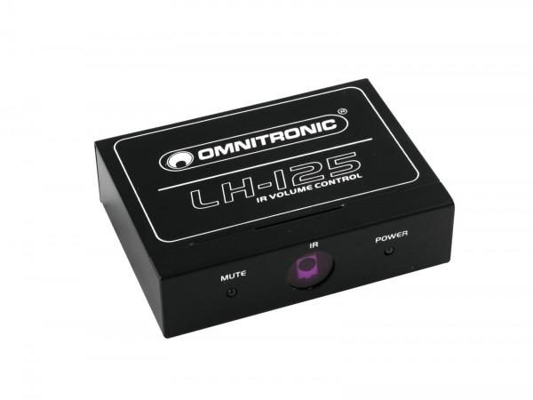 OMNITRONIC LH-125 IR-Lautstärkeregler // OMNITRONIC LH-125 IR Volume Controller1