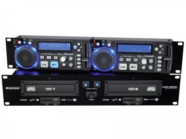 OMNITRONIC XDP-2800 Dual-CD-/MP3-Player // OMNITRONIC XDP-2800 Dual CD/MP3 Player1