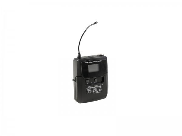 OMNITRONIC UHF-300 Taschensender 823-832/863-865MHz // OMNITRONIC UHF-300 Bodypack 823-832/863-865MHz1