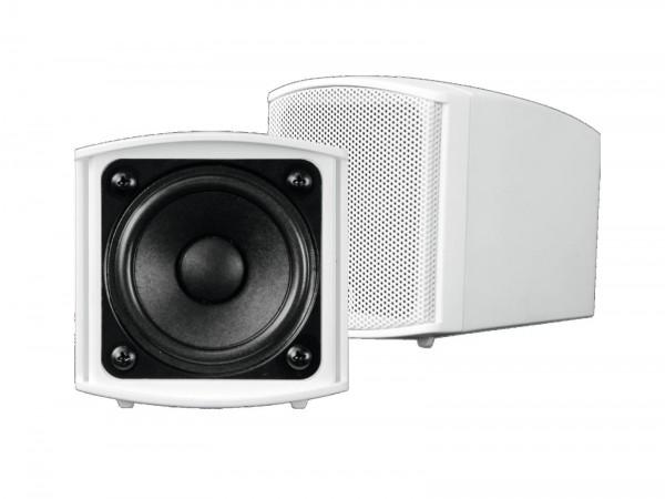 OMNITRONIC OD-2 Wandlautsprecher 8Ohm weiß 2x // OMNITRONIC OD-2 Wall Speaker 8Ohms white 2x1
